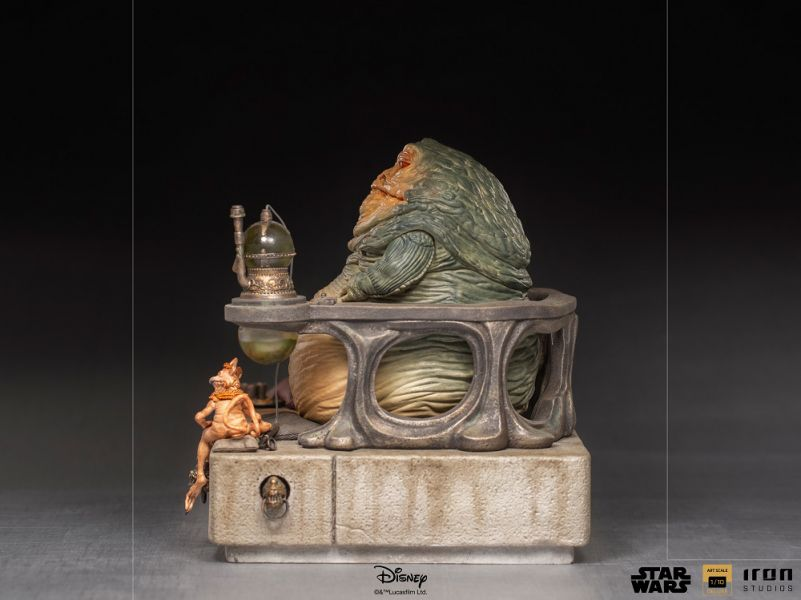 IRON STUDIOS 星際大戰 賈霸 豪華版 雕像