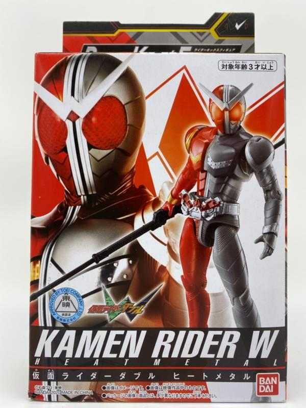 【特價品】BANDAI 假面騎士W RKF W 炙熱鋼鐵型態