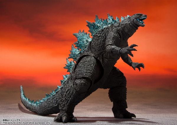 BANDAI S.H.MonsterArts 哥吉拉大戰金剛 哥吉拉 Godzilla 2021