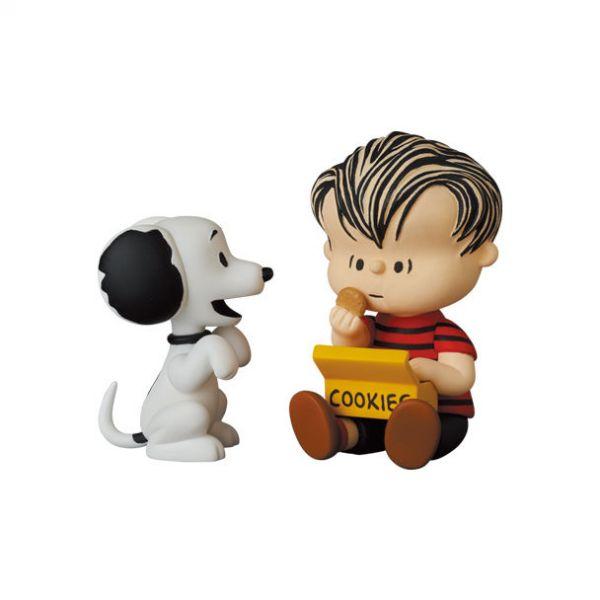 Medicom Toy 軟膠 UDF Peanuts Series 12 50s SNOOPY and LINUS