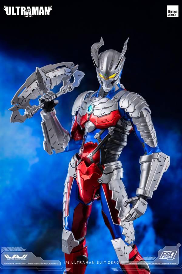 threezero 新·超人力霸王 賽羅 6吋收藏可動人偶