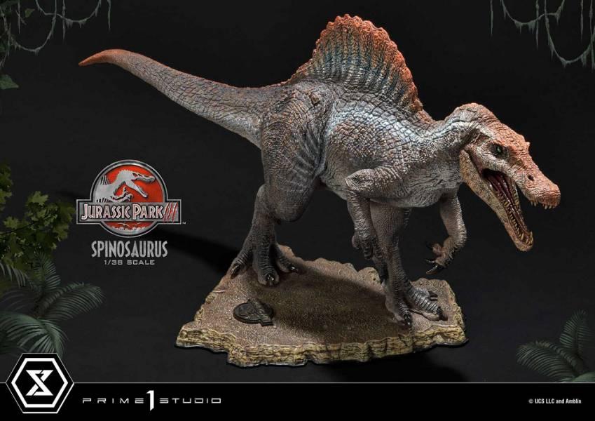 PCFJP-04 侏羅紀公園3 棘龍 雕像