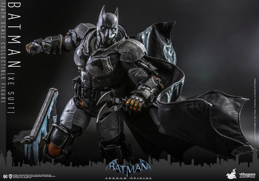 VGM52 蝙蝠俠:阿卡漢起源 蝙蝠俠 極地戰甲款