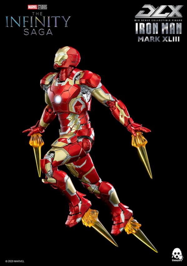 threezero 復仇者聯盟:無限傳奇 鋼鐵人 Mark 43 DLX版