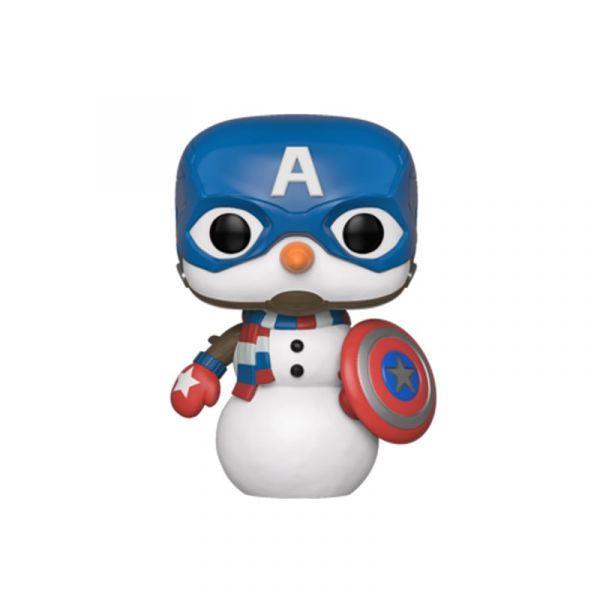 FUNKO POP 漫威系列 聖誕節 美國隊長