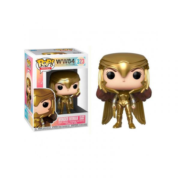 FUNKO POP 電影系列 神力女超人1984 神力女超人 Gold Power FK46658