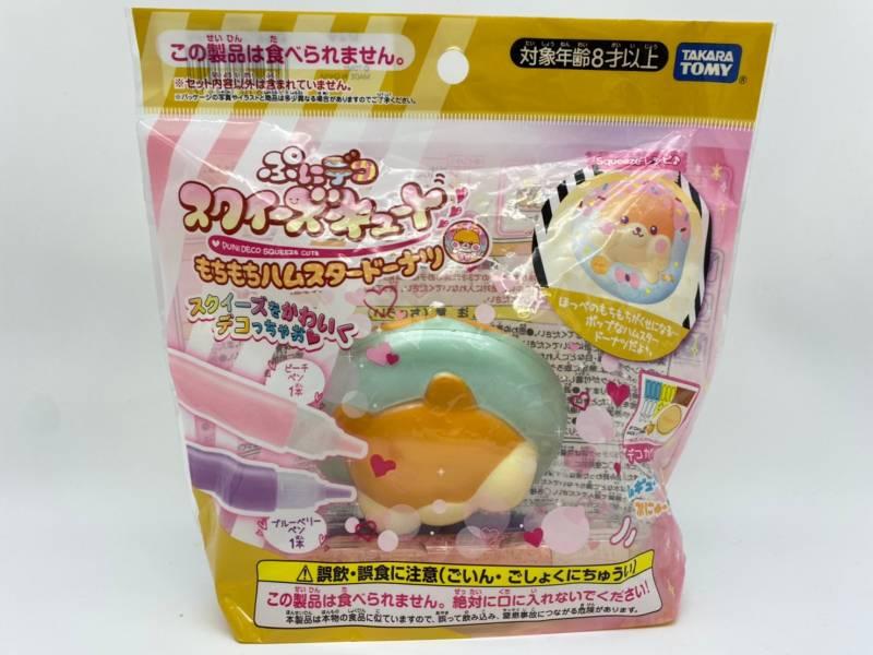 【特價品】TAKARA TOMY 彩繪倉鼠甜甜圈