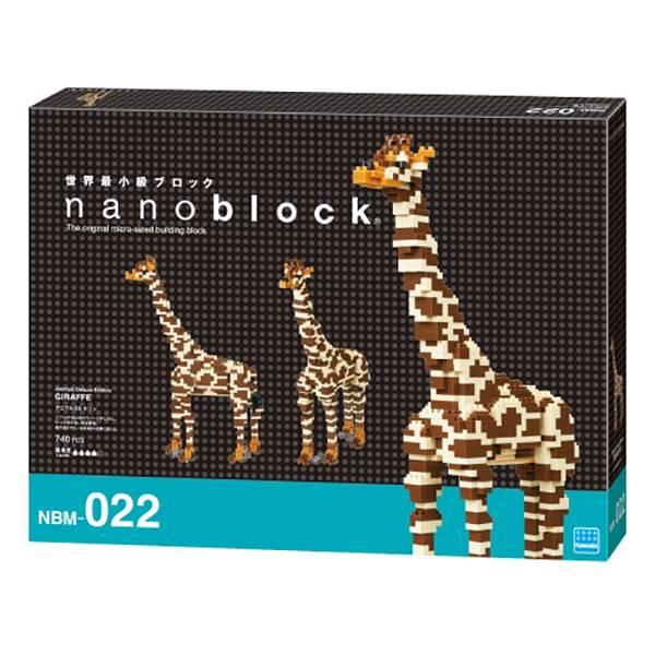 nanoblock NBM-022 長頸鹿 DXKD20979