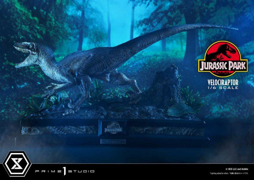 LMCJP-04 侏羅紀公園 迅猛龍 雕像 攻擊款