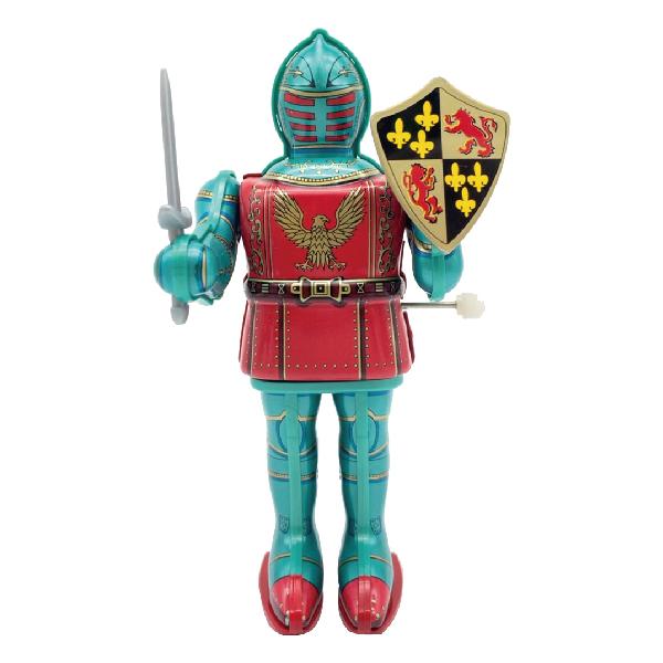 MASUDAYA 日製 鐵皮玩具 mini Knight in Armor 迷你裝甲騎士