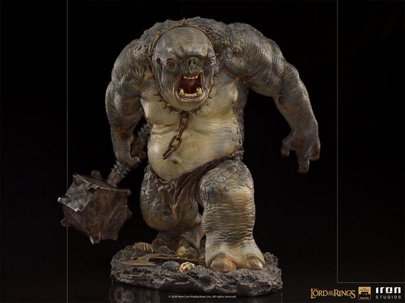IRON STUDIOS 魔戒 洞穴食人妖 豪華版 BDS雕像