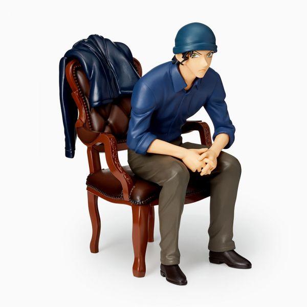 SEGA TOY 日版 名偵探柯南 赤井秀一 坐姿 附椅子 名探偵コナン,赤井秀,景品