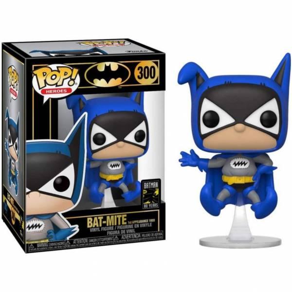 FUNKO POP 蝙蝠俠 80週年 蝙蝠 珍珠色