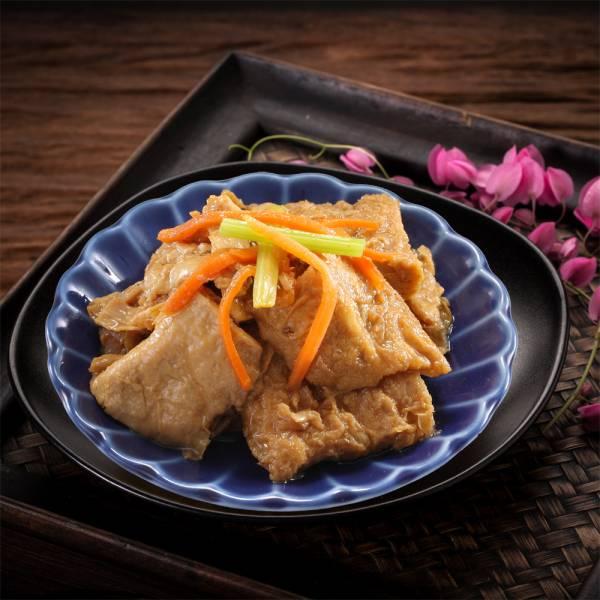 [即鮮小食] 紅燒豆皮-五包入 豆皮,眷村料理, 家常菜,紅燒