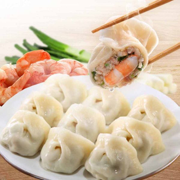 雙寶鮮蝦鮮肉餃子 鮮蝦,溫體豬肉,手工水餃