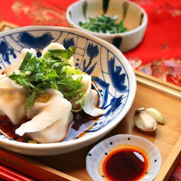 辣辣der高麗菜鮮肉餃子[輕巧包] 高麗菜,溫體豬肉,手工水餃,辣醬