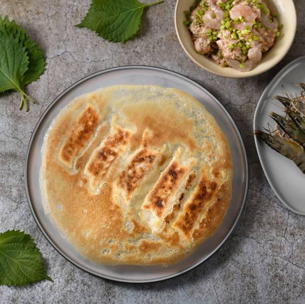 紫蘇鮮肉冷凍煎餃 紫蘇葉, 煎餃, 國產溫體豬肉, 紫蘇煎餃, 日式煎餃, 冰花煎餃