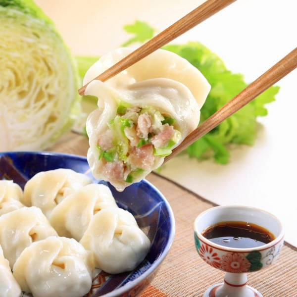 清甜高麗菜鮮肉餃子-五包入 高麗菜水餃,高山高麗菜,手工水餃