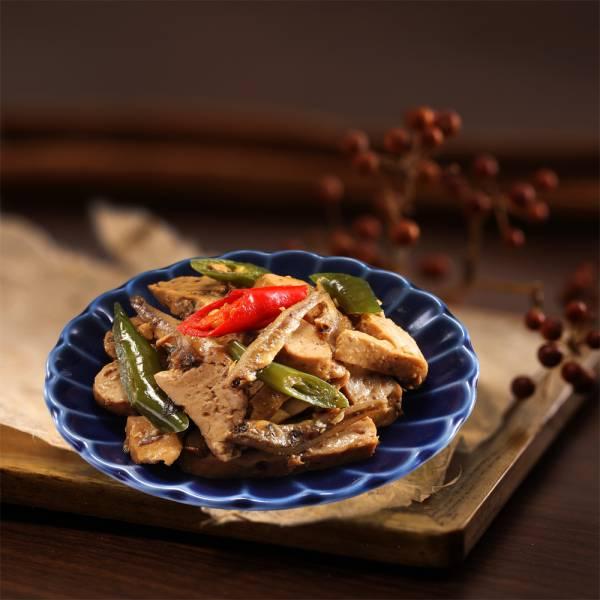 [即鮮小食] 辣椒小魚豆干-五包入 小魚豆干,眷村料理, 家常菜,下酒菜