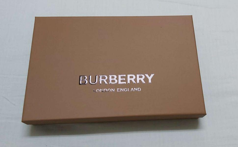 BURBERRY經典格紋鑽石級圍巾紙盒 BURBERRY