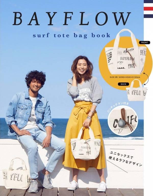 日本代購-限定款 BAYFLOW 塗鴉帆布包(售價已折) 日本代購,BAYFLOW,包包