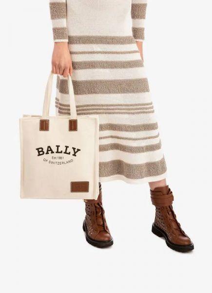 Bally Crystalia Naw Cabana Canvas Shopping Bag 帆布TOTE包 TORY BURCH 腋下包