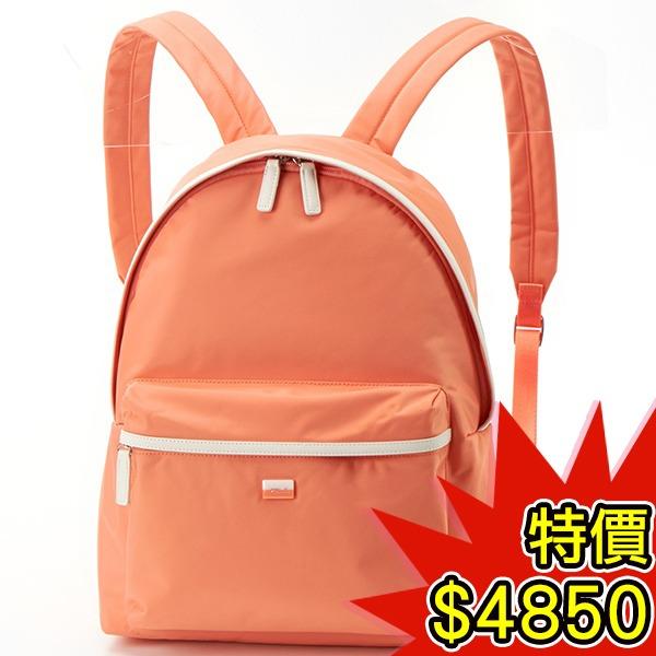 日本代購-agnes b.VOYAGE 雙色方塊logo尼龍後背包(共二色) agnes b.,東區時尚,後背包