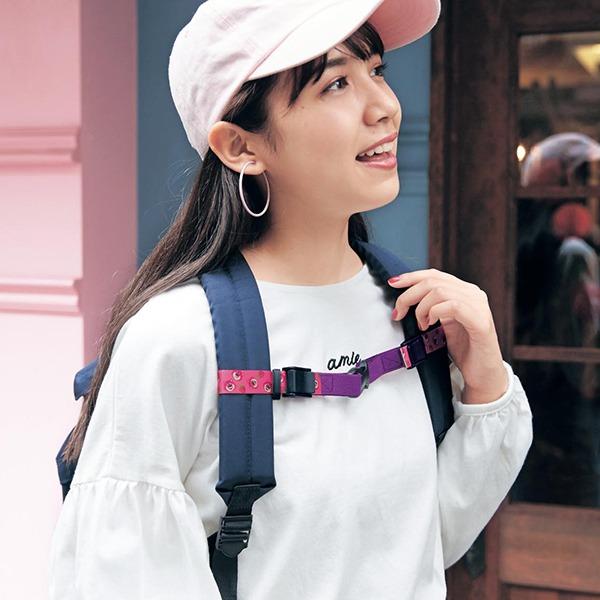 日本代購-日本製迪士尼後背包用胸部背帶-米奇 日本空運,東區時尚,背帶