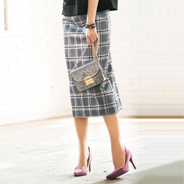 日本代購-portcros裡起毛長窄裙(M-3L) 日本代購,portcros,長窄裙