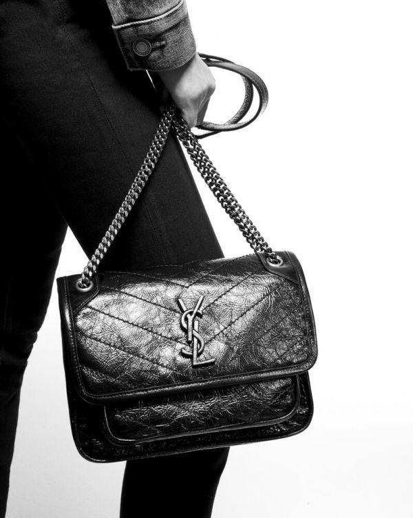 特價YSL Baby mini復古皮革手袋 (售價已折) YSL, NIKI ,medium,肩背包