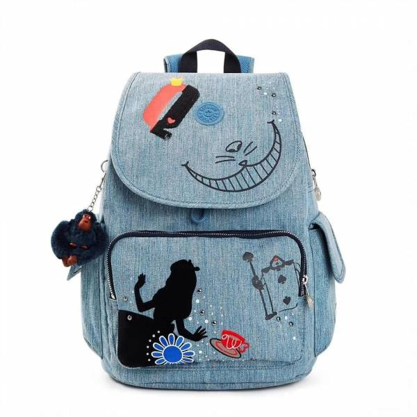 日本代購-特價Kipling ✕ Disney愛麗絲後背包(售價已折) 日本代購,Kipling ✕ Disney愛麗絲後背包