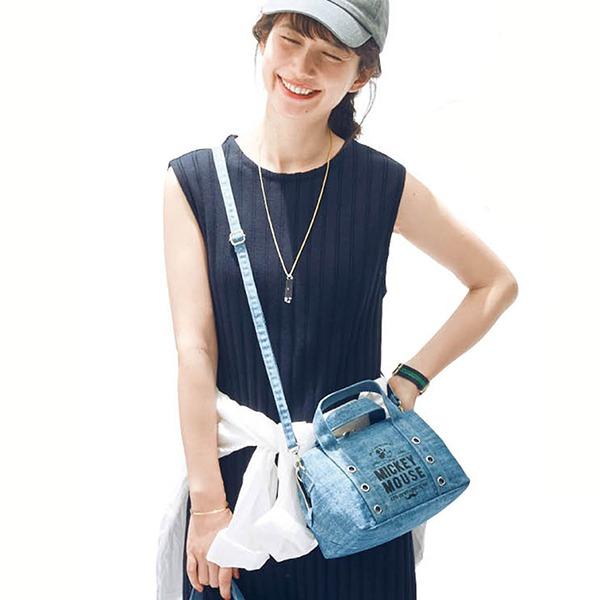 日本代購-迪士尼米奇2way手提肩背波士頓包 日本空運,東區時尚,波士頓包