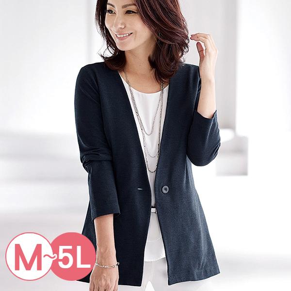 日本代購-portcros簡雅單釦無領外套M-LL(共四色) 日本代購,portcros,外套