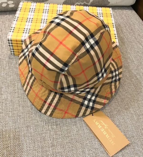 【超值預購】特價BURBERRY經典格紋漁夫帽(售價已折) 日本代購,BURBERRY,漁夫帽
