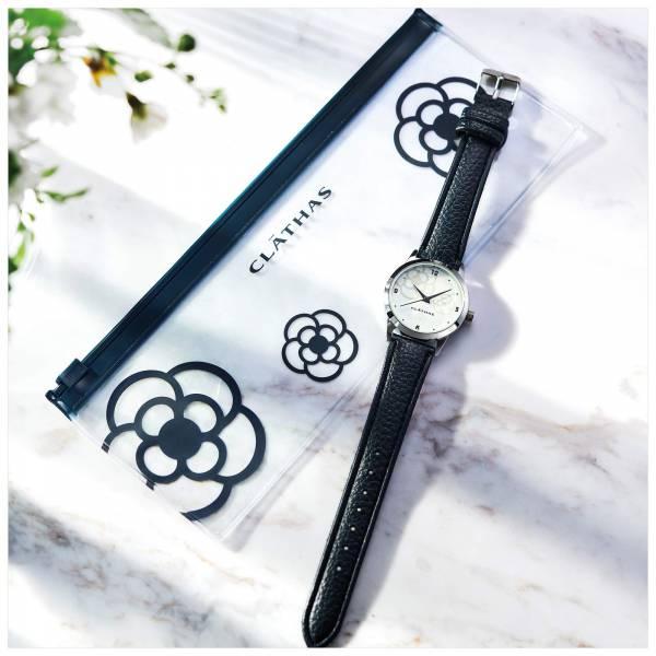 日本代購-特價 話題商品 雜誌附錄CLATHAS 山茶花小香風手錶(售價已折) agnes b.,東區時尚,手提包