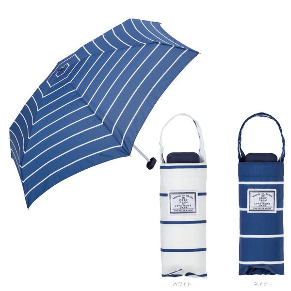 日本代購-現貨-日本品牌because 好收納輕巧晴雨兩用摺疊傘(寬條紋) 東區時尚,because,晴雨兩用傘,抗UV98%