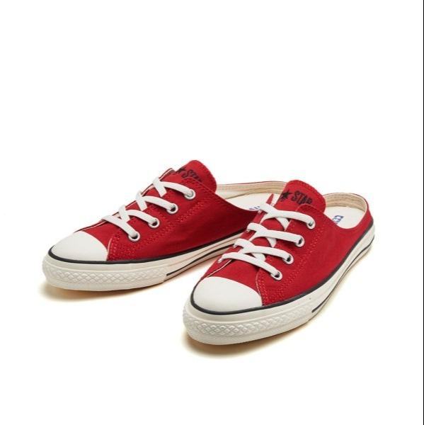 日本限定-特價CONVERSE ALL STAR S MULE SLIP OX 懶人拖鞋涼鞋紅色 (售價已折) 日本代購,CONVERSE All Star,懶人鞋,涼鞋
