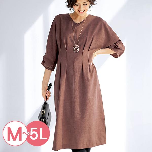 日本代購-portcros簡雅造型壓褶連身洋裝(共三色/M-LL) 日本代購,portcros,洋裝