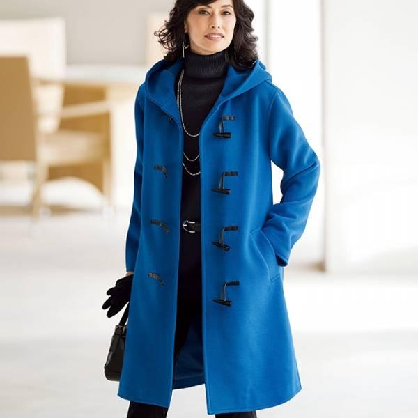 日本代購-特價portcros牛角釦連帽側開叉長外套3L-5L(售價已折) 日本代購,portcros,外套