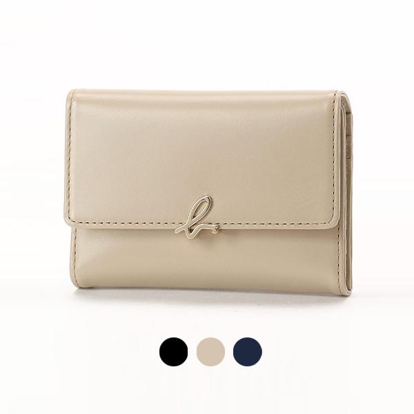 日本代購-agnes b. 啞光證件夾名片夾卡包 agnes b.,東區時尚,證件夾
