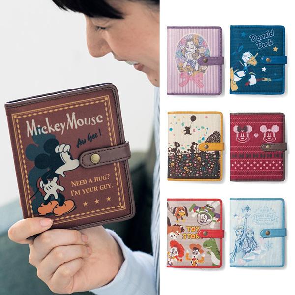 日本代購-迪士尼米奇維尼唐老鴨 Tsum Tsum 合成皮革卡片包信用卡套名片夾 日本代購,迪士尼,名片夾