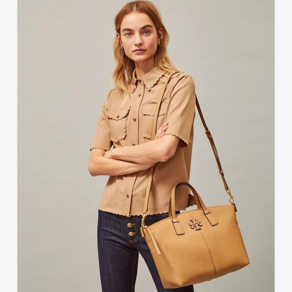 TORY BURCH MCGRAW TOP ZIP SATCHEL拉鍊大水餃包 Tory Burch,水餃包
