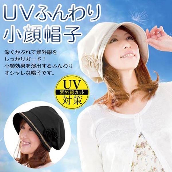 日本代購-花朵可拆防曬抗UV小臉效果貝雷帽(米色) 日本空運,東區時尚,貝雷帽