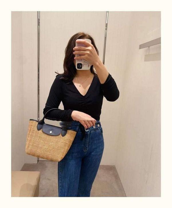 LONGCHAMP Top Handle Bag藤編包 日本代購,Longchamp