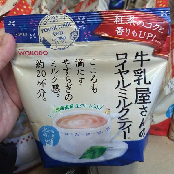日本代購-日本製 和光堂 WAKODO 牛乳屋 皇家奶茶/咖啡牛奶/焦糖奶茶 東區時尚,日本代購,奶茶