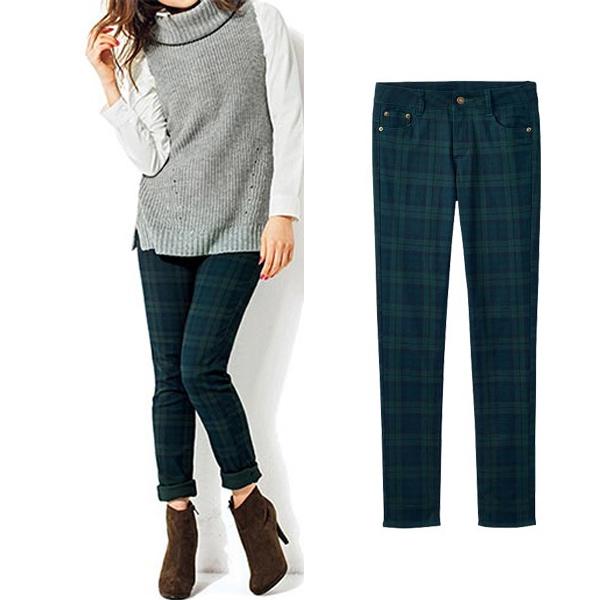 現貨-portcros彈性顯瘦長褲(D款L) 日本代購,portcros,顯瘦,長褲