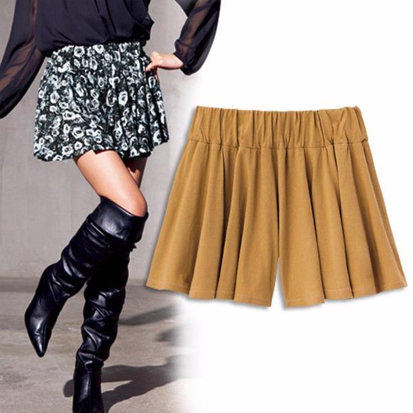 現貨-portcros魅力注目針織裙褲-駝色豹紋(駝色系豹紋/L) 日本代購,portcros,褲