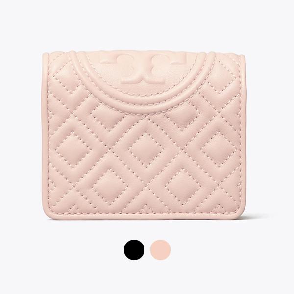 日本代購-Tory Burch FLEMING絎縫雙折短夾(共二色) agnes b.,東區時尚,TB包
