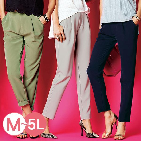 日本代購-portcros人氣熱賣打褶設計彈性錐形褲(共十色/M-LL) 日本代購,portcros,錐形褲