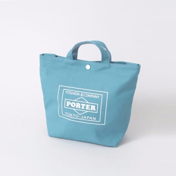 日本代購-Urban Research X PORTER 帆布托特包(小款/藍色) 日本代購,PORTER,帆布托特包